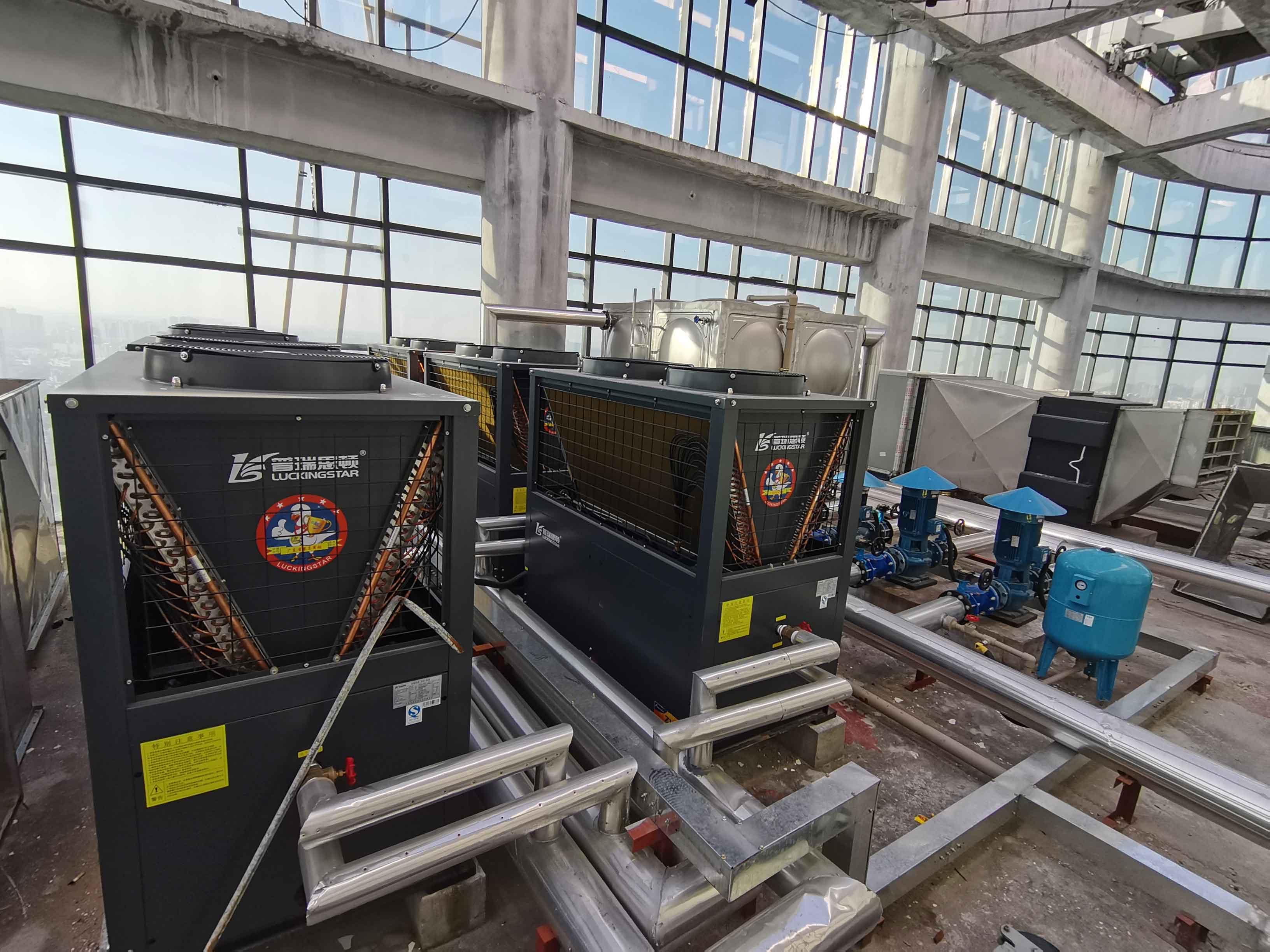 工厂空气能热水工程